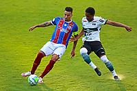 16th November 2020; Couto Pereira Stadium, Curitiba, Brazil; Brazilian Serie A, Coritiba versus Bahia; Matheus Sales of Coritiba and Gregore of Bahia
