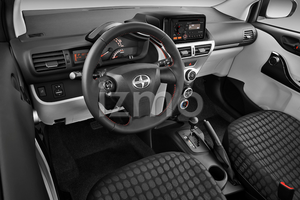 High angle dashboard view of a  2012 Scion IQ