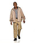 """Artis Owens, also known as """"The Walking Man"""", in Oxford, Miss. on Wednesday, November 9, 2011."""