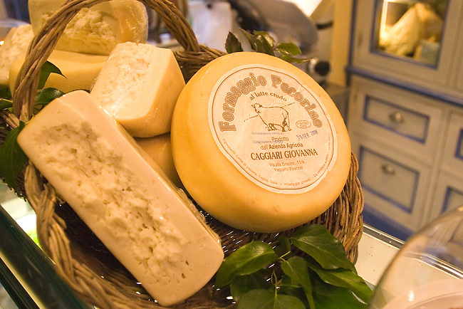 Cheese Assortment, Olio Restaurant, Florence, Tuscany, Italy