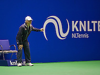 December 16, 2014, Rotterdam, Topsport Centrum, Lotto NK Tennis, Linesman<br /> Photo: Tennisimages/Henk Koster