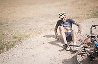 Wouter Mol (NED/Cyclingteam Join's - De Rijke) crashed<br /> <br /> 91st Schaal Sels 201691st Schaal Sels 2016