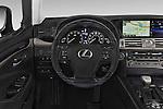 Car pictures of steering wheel view of a 2015 Lexus LS 460 4 Door Sedan