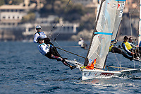 Genoa, Italy is hosting sailors for the third regatta of the 2019 Hempel World Cup Series from 15-21 April 2019. More than 700 competitors from 60 nations are racing across eight Olympic Events. ©PEDRO MARTINEZ/SAILING ENERGY/WORLD SAILING<br /> 18 April, 2019.