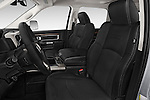 Front seat view of a 2017 Ram 3500 Laramie 4 Door Van front seat car photos