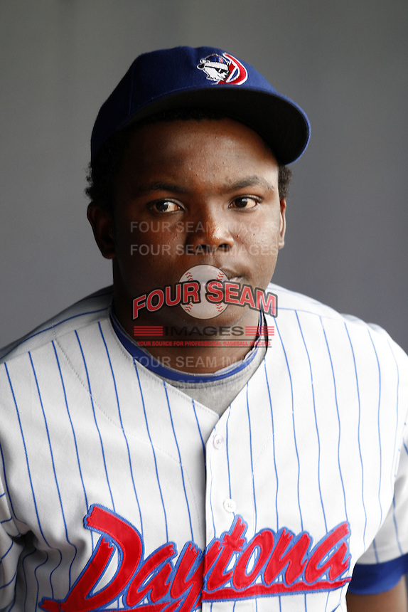 July 10, 2009:  Rafael Dolis of the Daytona Cubs during a game at George M. Steinbrenner Field in Tampa, FL.  Daytona is the Florida State League High-A affiliate of the Chicago Cubs.  Photo By Mike Janes/Four Seam Images
