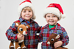 WATERBURY, CT- 10 December 2015-121015EC18-  Christmas Kids North. Grant Parker, 4, and his brother Finn, 2, are from Litchfield. Grant wants Transformers for Christmas, Finn wants a Leonardo Ninja Turtle. Erin Covey Republican-American