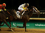 LOUISVILLE, KY -NOV 24: Seeking the Soul (John Velazquez) wins the 143rd running of the G1 Clark Handicap at Churchill Downs, Louisville, Kentucky. Owner Charles E. Fipke, trainer Dallas Stewart.  By Perfect Soul x Seeking the Title, by Seeking the Gold. (Photo by Mary M. Meek/Eclipse Sportswire/Getty Images)