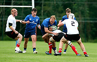 Saturday 4th September 20218 <br /> <br /> Grant Palmer during U18 Clubs inter-pro between Ulster Rugby and Leinster at Newforge Country Club, Belfast, Northern Ireland. Photo by John Dickson/Dicksondigital