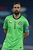 2nd July 2021; Nilton Santos Stadium, Rio de Janeiro, Brazil; Copa America, Brazil versus Chile; Claudio Bravo of Chile as the match starts