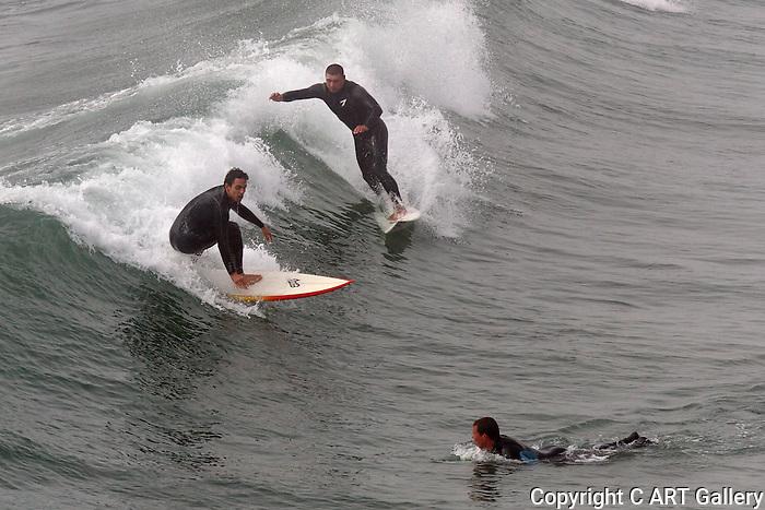 Surfing 2, Huntington Beach, CA.
