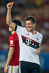 Robert Lewandowski of Bayern Munich reacts during the Bayern Munich vs Guangzhou Evergrande as part of the Bayern Munich Asian Tour 2015  at the Tianhe Sport Centre on 23 July 2015 in Guangzhou, China. Photo by Aitor Alcalde / Power Sport Images
