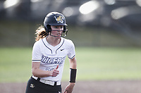 Bentonville Sydney Rhuda (25) runs home for a score, Thursday, April 29, 2021 during a softball game at Bentonville High School in Bentonville. Check out nwaonline.com/210430Daily/ for today's photo gallery. <br /> (NWA Democrat-Gazette/Charlie Kaijo)