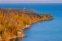 Au Sable Point Lighthouse from Log Slide<br />