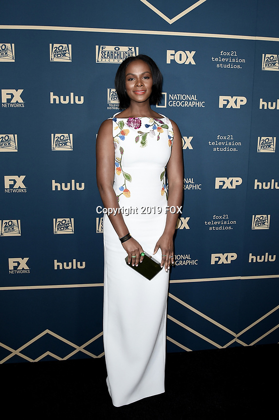 BEVERLY HILLS - JANUARY 6: Tika Sumpter attends the 2019 Fox Nominee Party for the 76th Annual Golden Globe Awards at the Fox Terrace on the Roof Deck of the Beverly Hilton on January 6, 2019, in Beverly Hills, California. (Photo by Scott Kirkland/Fox/PictureGroup)