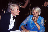 Andy Warhol Lillian Carter 1978 Photo by Adam Scull-PHOTOlink.net