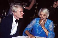 Andy Warhol Lillian Carter 1978 Photo by Adam Scull-PHOTOlink.net
