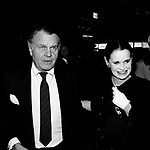 Bill Blass & Gloria Vanderbilt in New York City 1982