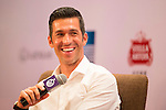 Luis Garcia during the Football Players Press Conference on the sidelines of the World Celebrity Pro-Am 2016 Mission Hills China Golf Tournament on 22 October 2016, in Haikou, China. Photo by Marcio Machado / Power Sport Images