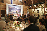 The annual Sentara Martha Jefferson Capstone Society dinner, at The Lodge in Albemarle County, Va. Photo/Andrew Shurtleff Photography, LLC
