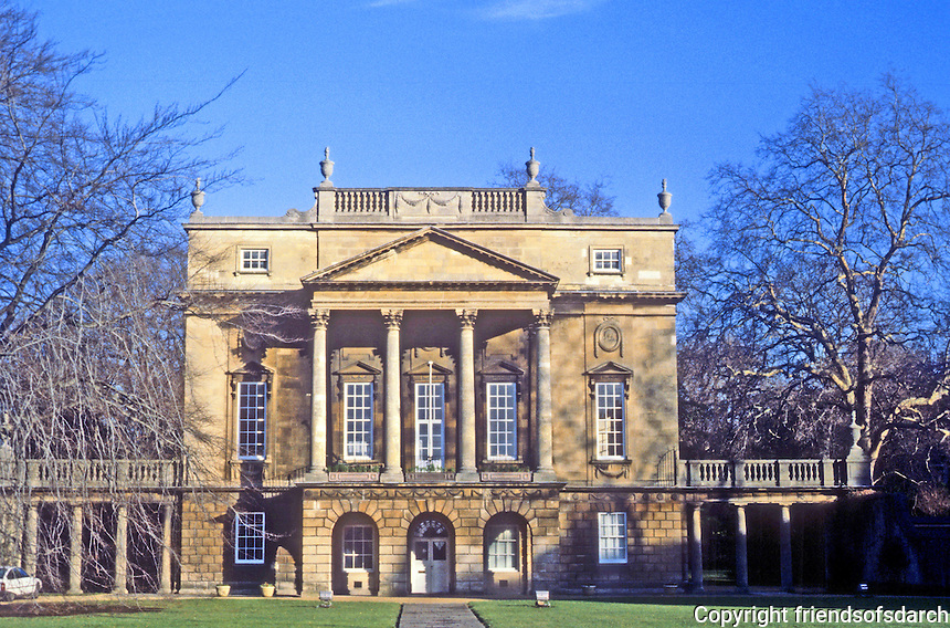 Bath: Holburne Museum, 1796-1836. Originally a hotel, Sydney House.