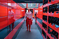 Grand Prix of Hungary Motorsports: FIA Formula One World Championship 2020, Grand Prix of Hungary, 5 Sebastian Vettel GER, Scuderia Ferrari Mission Winnow, *** Local Caption *** Photo: COLOMBO IMAGES/Scuderia Ferrari Press Office/FIA Pool via HOCH ZWEI Budapest Hungary Poolfoto HOCH ZWEI/Pool/COLOMBO IMAGES ,EDITORIAL USE ONLY<br /> Hungaroring, Mogyorod, Hungary 18/07/2020 <br /> Formula 1 GP Ungheria <br /> Foto Imago/Insidefoto <br /> ITALY ONLY