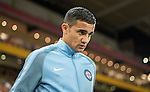 BRISBANE, AUSTRALIA - OCTOBER 30: Tim Cahill of Melbourne enters the field before the round 5 Hyundai A-League match between the Brisbane Roar and Melbourne City at Suncorp Stadium on November 4, 2016 in Brisbane, Australia. (Photo by Patrick Kearney/Brisbane Roar)
