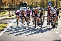 front group   <br /> <br /> 9th Gent-Wevelgem in Flanders Fields 2020<br /> Elite Womens Race (1.WWT)<br /> <br /> One Day Race from Ypres (Ieper) to Wevelgem 141km<br /> <br /> ©kramon