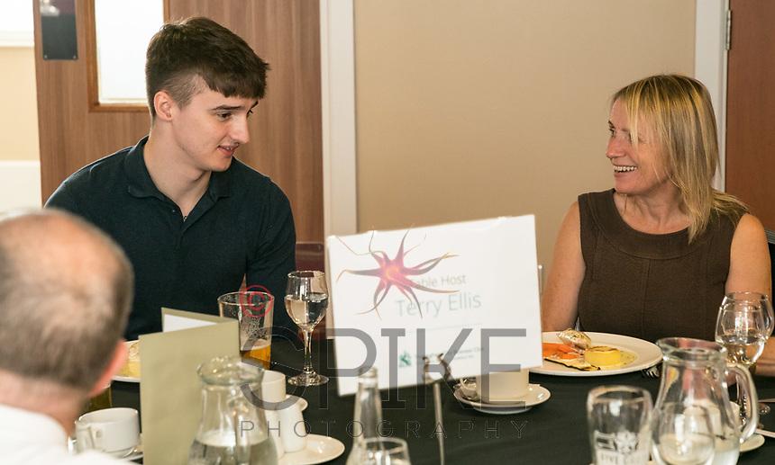 Jack Reddington form Spike Photography and Lynn Johnson of FSG Tableware Ltd