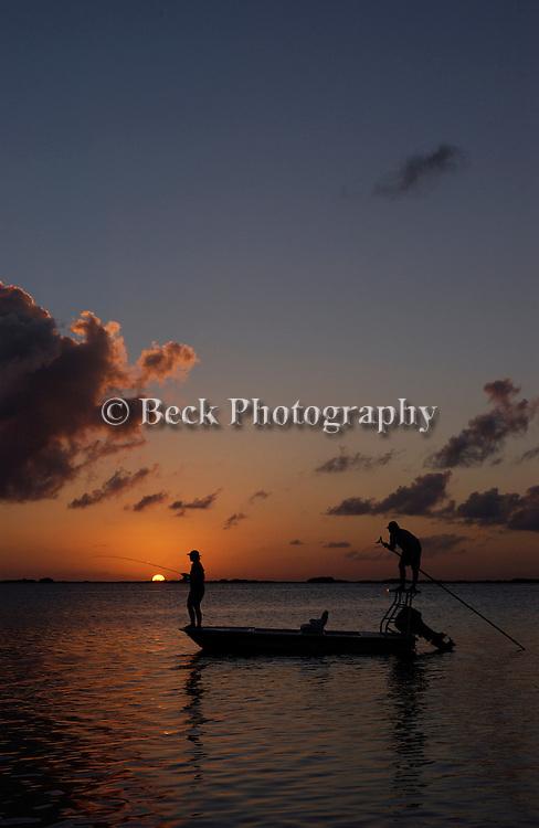 Sunset Boca Paila Mexico