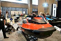 Le salon nautique a la place Bonaventure, fevrier 2017<br /> <br /> <br /> <br /> PHOTO : Agence Quebec Presse