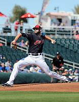 Sam Hentges - Cleveland Indians 2019 spring training (Bill Mitchell)