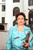 shirin ebadi, premio nobel pace 2003, avvocato pacifista iraniana