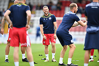 Jake Reeves of Stevenage FC during Stevenage vs Watford, Friendly Match Football at the Lamex Stadium on 27th July 2021