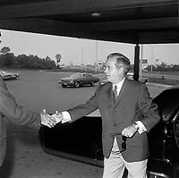Sujet : Politique - Jean-Jacques Bertrand<br /> Date: Entre le 14 et le 20 juillet 1969<br /> <br /> Photo : Photo Moderne - © Agence Quebec Presse