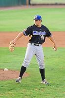 Missoula Osprey first baseman Daniel Palka (44) on defense against the Ogden Raptors at Lindquist Field on July 17, 2013 in Ogden Utah. (Stephen Smith/Four Seam Images)