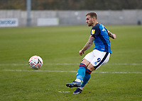 8th November 2020; SkyEx Community Stadium, London, England; Football Association Cup, Hayes and Yeading United versus Carlisle United; Lewis Alessandra of Carlisle United during the penalty shoot out