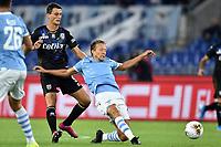 Roberto Inglese of Parma , Lucas Leiva of SS Lazio <br /> Roma 22-9-2019 Stadio Olimpico <br /> Football Serie A 2019/2020 <br /> SS Lazio - Parma Calcio <br /> Foto Andrea Staccioli / Insidefoto