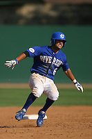 March 28 2009: Ryan Goetz of the UC Riverside Highlanders during game against the CS Fullerton Titans at Riverside Sports Complex in Riverside,CA.  Photo by Larry Goren/Four Seam Images