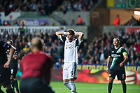 Thursday  03 October  2013  Pictured:Michu of Swansea<br /> Re:UEFA Europa League, Swansea City FC vs FC St.Gallen,  at the Liberty Staduim Swansea