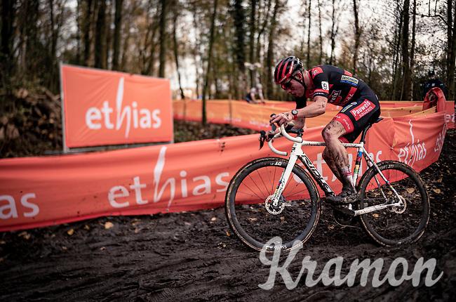 U23 CX World Champion Ryan Kamp (NED/Pauwels Sauzen - Bingoal)<br /> <br /> Jaarmarktcross Niel (BEL) 2020<br /> Men's Race<br /> <br /> ©kramon