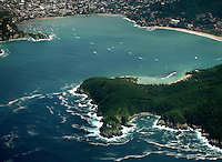 Waves crashing into the lush foothills of Zihuatanejo/Ixtapa, Mexico make a picturesque scene when photographed from an airplane flying into the twin towns. (taken August 2007). Photo by Patrick Schneider Photo.com