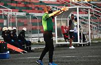 TULUA - COLOMBIA, 21-11-2020:  Partido entre Cortuluá y Bogotá por los cuadrangulares semifinales del TORNEO BETPLAY DIMAYOR 2020 jugado en el estadio Doce de Octubre de la ciudad de Tuluá. / Match for the for the quarters finals part of BetPlay DIMAYOR Tournament I 2020 between Cortulua and Bogota played at Doce de Octubre stadium in Tulua. Photo: VizzorImage / Juan Jose Horta / Cont