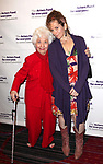 Charlotte Rae & Amy Stiller attending the Actors Fund Gala honoring Harry Belafonte, Jerry Stiller, Anne Meara & David Steiner at the Mariott Marquis Hotel in New York City on 5/21/12
