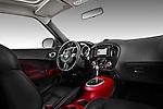 Straight Dashboard View 2011 Nissan Juke SV SUV 2 Stock Photo