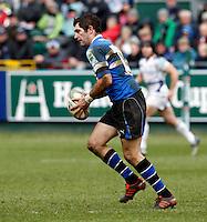 Photo: Richard Lane/Richard Lane Photography. Bath Rugby v Leinster. Heineken Cup. 11/12/2011. Bath's Stephen Donald.