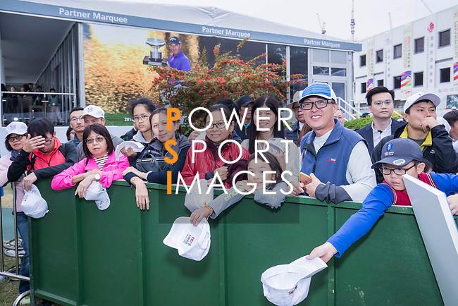 Fans during the day three of UBS Hong Kong Open 2017 at the Hong Kong Golf Club on 25 November 2017, in Hong Kong, Hong Kong. Photo by Yu Chun Christopher Wong / Power Sport Images