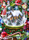Randy, CHRISTMAS SYMBOLS, WEIHNACHTEN SYMBOLE, NAVIDAD SÍMBOLOS, paintings+++++,USRW350,#xx# ,crystal ball,glass ball