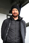 Sir Bradley Wiggins (GBR) Team Sky at the Team Presentations in Compiegne before the 2015 Paris-Roubaix cycle race held over the cobbled roads of Northern France. 11th April 2015.<br /> Photo: Eoin Clarke www.newsfile.ie