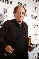 Montreal (Qc) CANADA - February 2007 -<br /> Gabriel Arcand awarded at the 2007 JUTRAS Gala